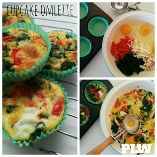 Cupcake Omelette
