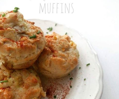 Chicken and Sweetcorn Muffins
