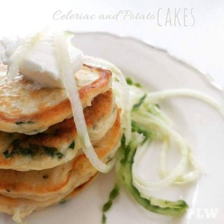 Celeriac and Potato Pancakes