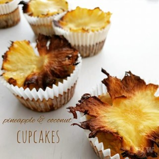 Pineapple & Coconut Cupcakes