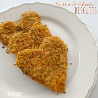 Carrot and Cheese Biscuits