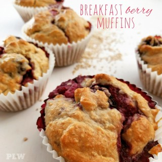 Breakfast Berry Muffins