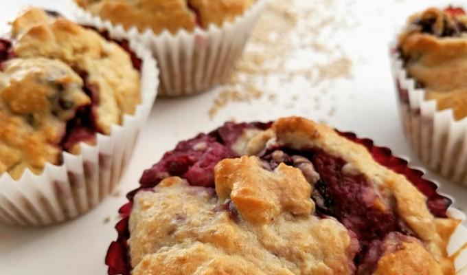Breakfast Berry Muffins