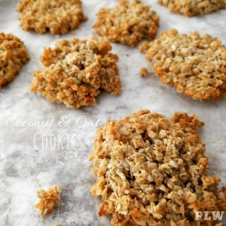 Coconut & Oat Cookies