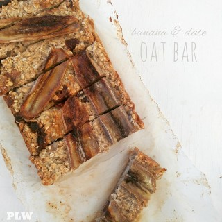 Banana and Date Oat Bar
