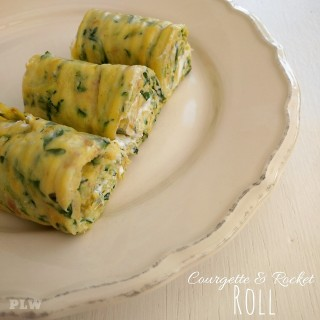 Courgette and Rocket Roll