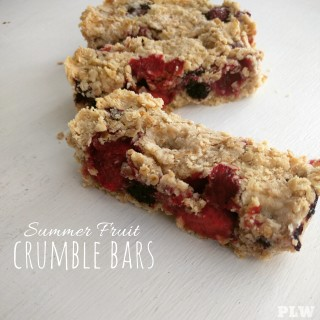 Fruit Crumble Bars
