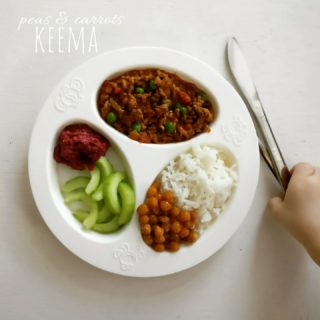 Peas and Carrots Keema