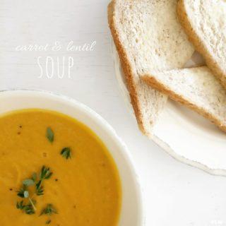 Carrot & Lentil Soup