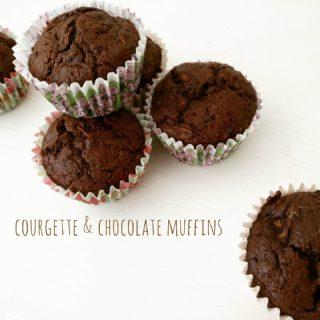 Courgette & Choc Muffins